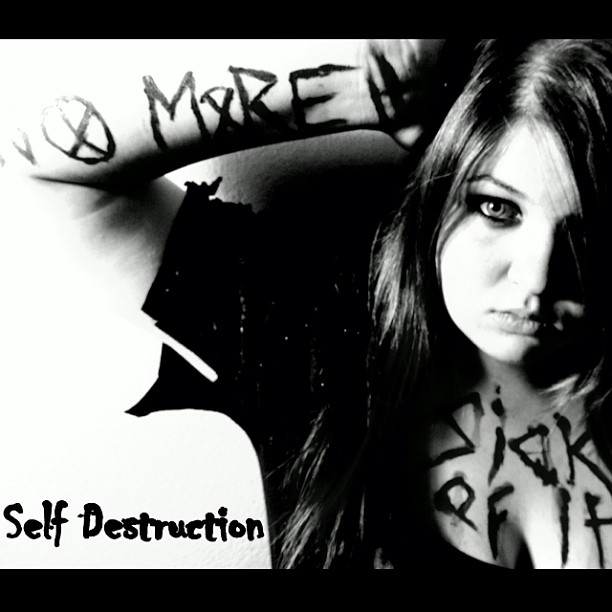 a description of the self destruction suicide Whereas those forces can set the stage for self-destruction, it is essential that people have access to social networks that function as a source of emotional support during difficult times common sense tells us that suicide must take many forms, thus the relevance of systems that classify subtypes of suicide.